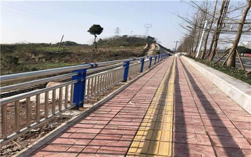 河道栏杆案例